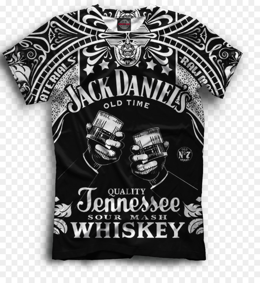 40383b85d217bd Jack Daniel s Tennessee whiskey T-shirt Logo - T-shirt png download -  1115 1199 - Free Transparent Whiskey png Download.