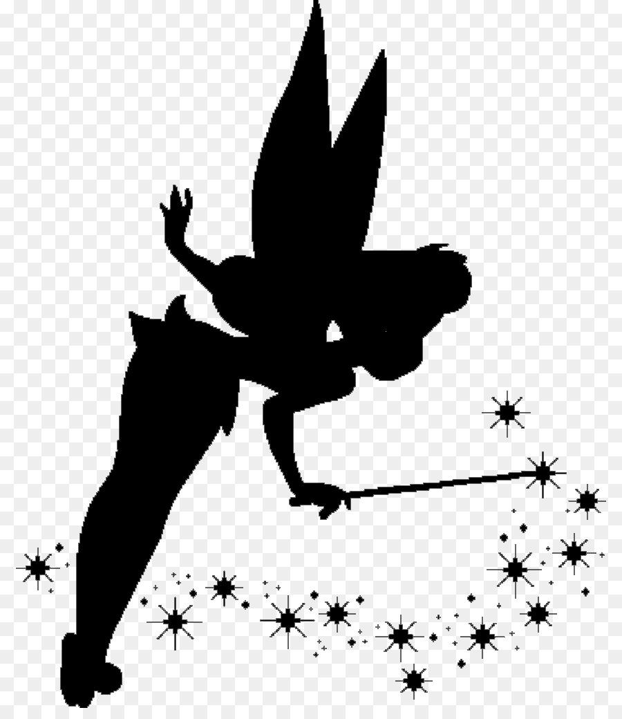 Tinker Bell Peeter Paan Ariel Peter Pan Silhouette Disney Princess