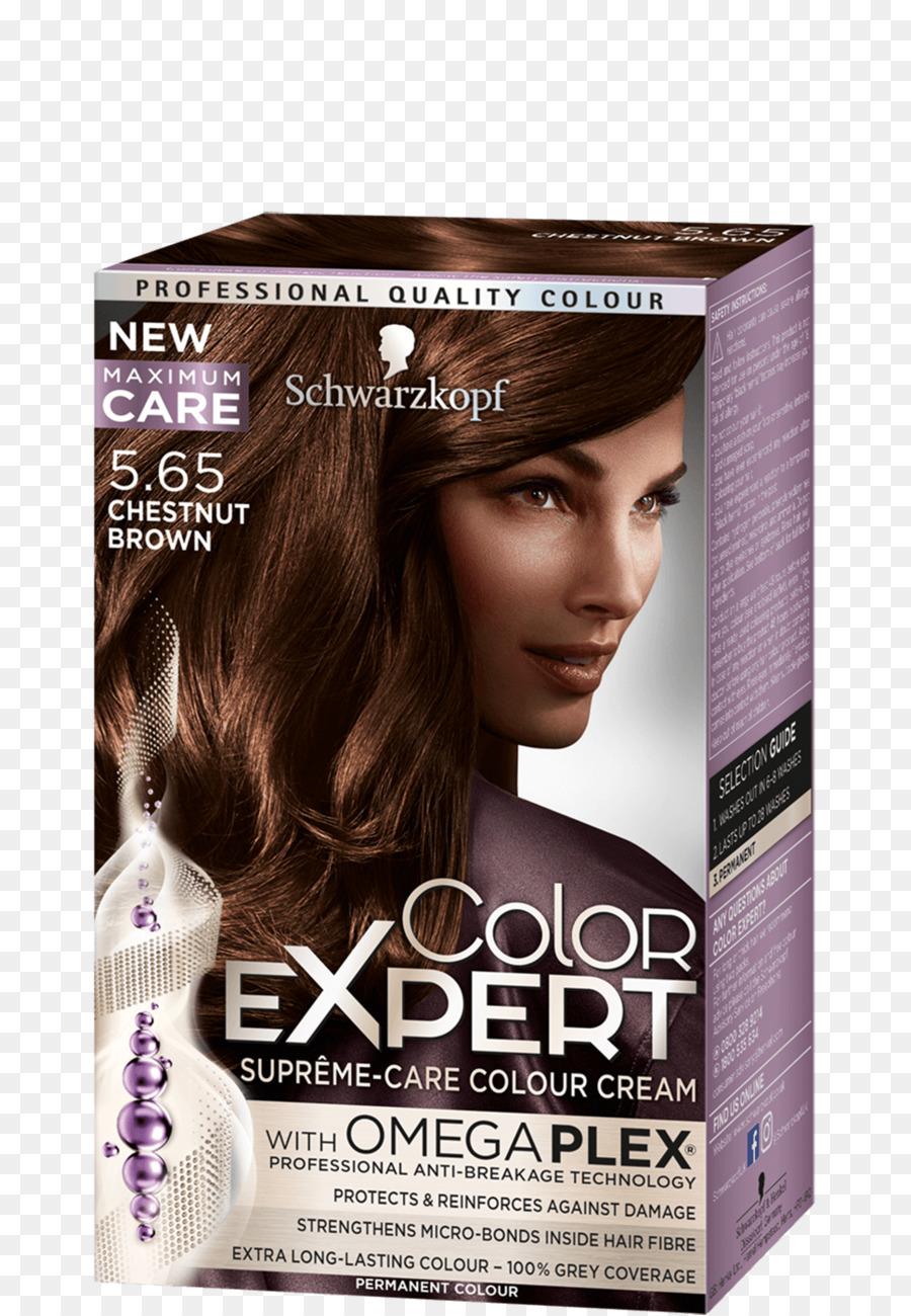 Hair Coloring Human Hair Color Schwarzkopf Garnier Chestnut Png