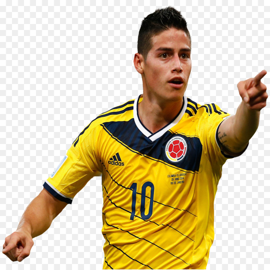 83571f381ca 2014 FIFA World Cup James Rodríguez Colombia national football team ...