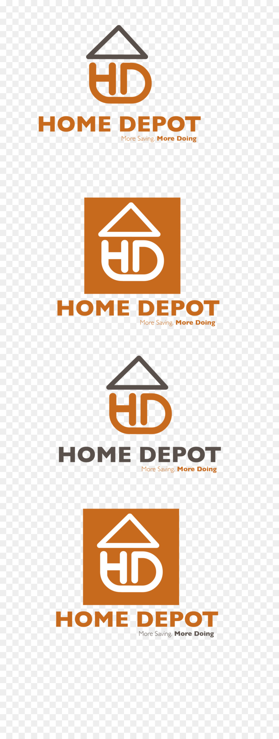 Logo Rebranding The Home Depot Others Png Download 10002643