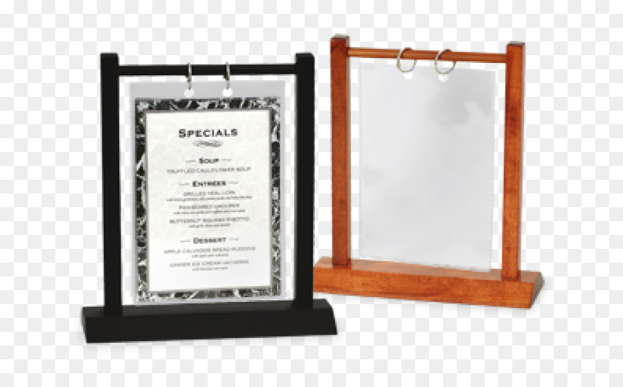 Table Restaurant Menu Bar Place Cards Table Png Download - Restaurant table cards