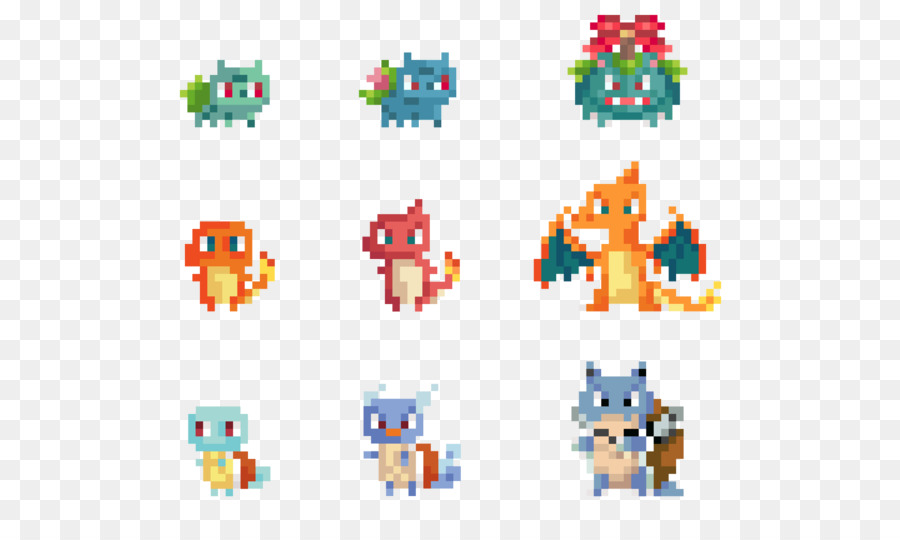 Pokémon Pixel Art Drawing Pokemon Png Download 600530 Free