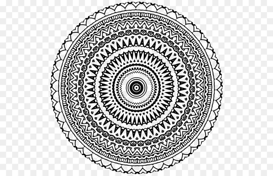 Aztec Calendar Stone Mandala Coloring Book