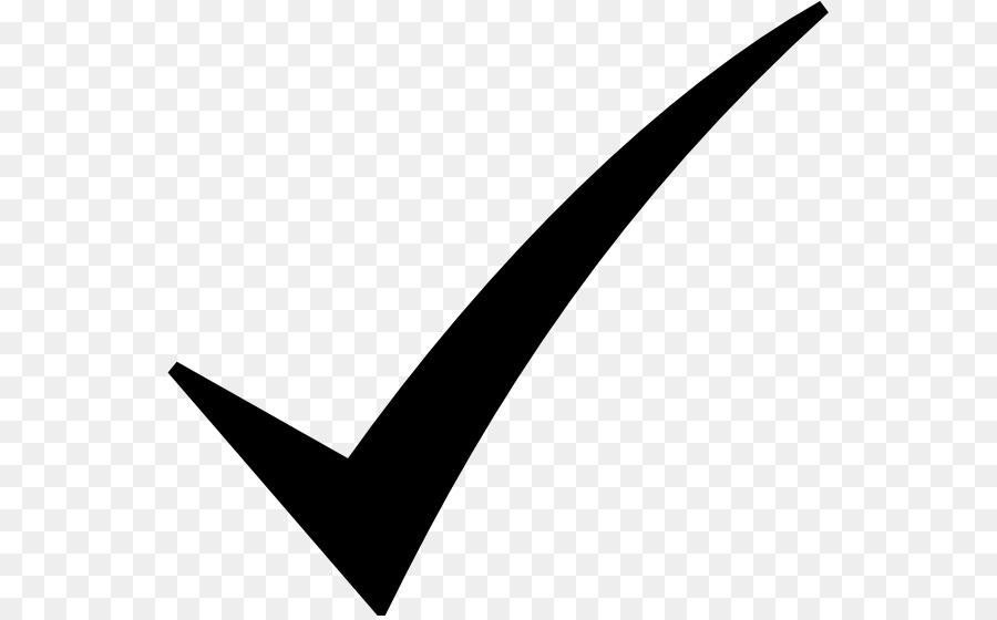 Check Mark Symbol Clip Art Black Check Mark Png Download 600556