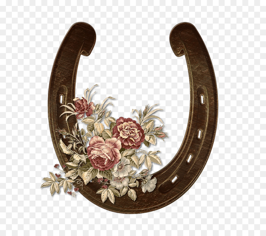 Horseshoe floral. Png download free transparent