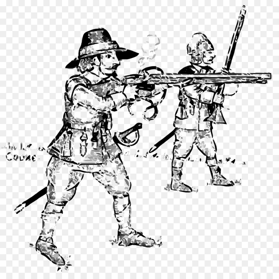 drawing cartoon english civil war soldier england soldier png