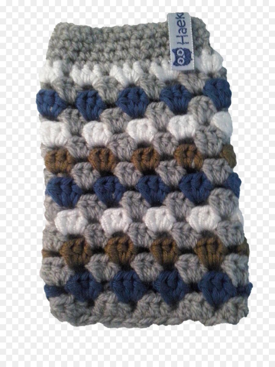 Crochet Granny square Botón de Lana Patrón - Cuadrado De La Abuelita ...