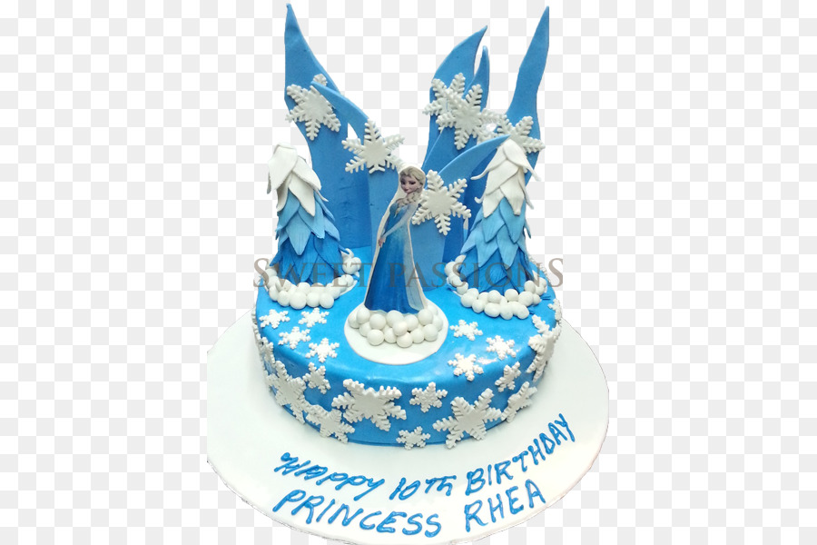 Birthday Cake Elsa Chocolate Cake Torte Bakery Princess Cake Png