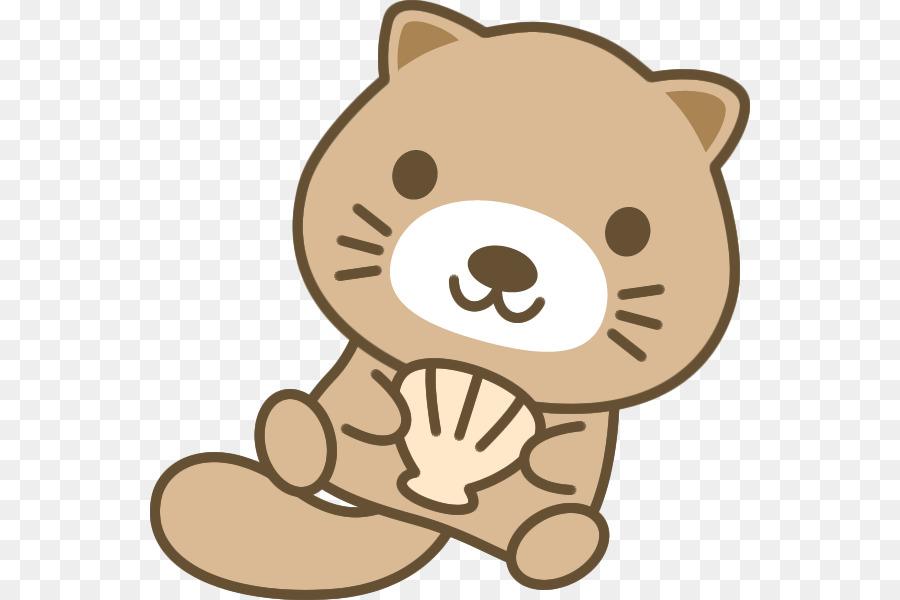 Whiskers Sea otter Clip art - Frame japan png download - 600*600 ...