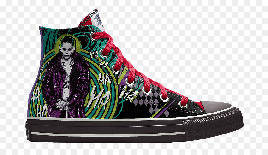 88c887d54b1 Harley Quinn Joker Converse Chuck Taylor All-Stars Sneakers - Sole  Collector png download - 900 514 - Free Transparent Harley Quinn png  Download.