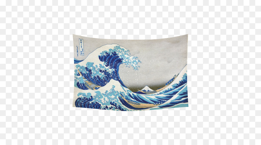 Die Große Welle Vor Kanagawa Malerei Kunst Sechsunddreißig