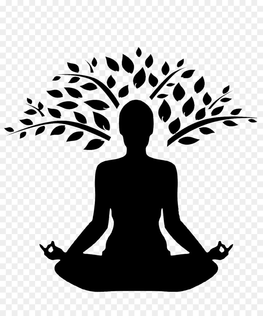 Yoga Vriksasana Silhouette