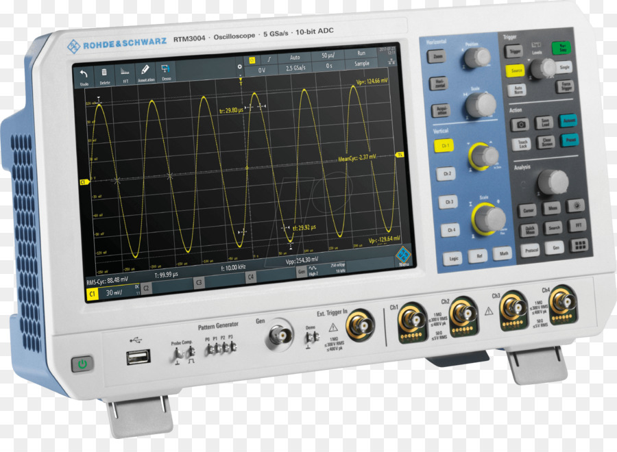 Oscilloscope Technology png download - 1533*1092 - Free Transparent