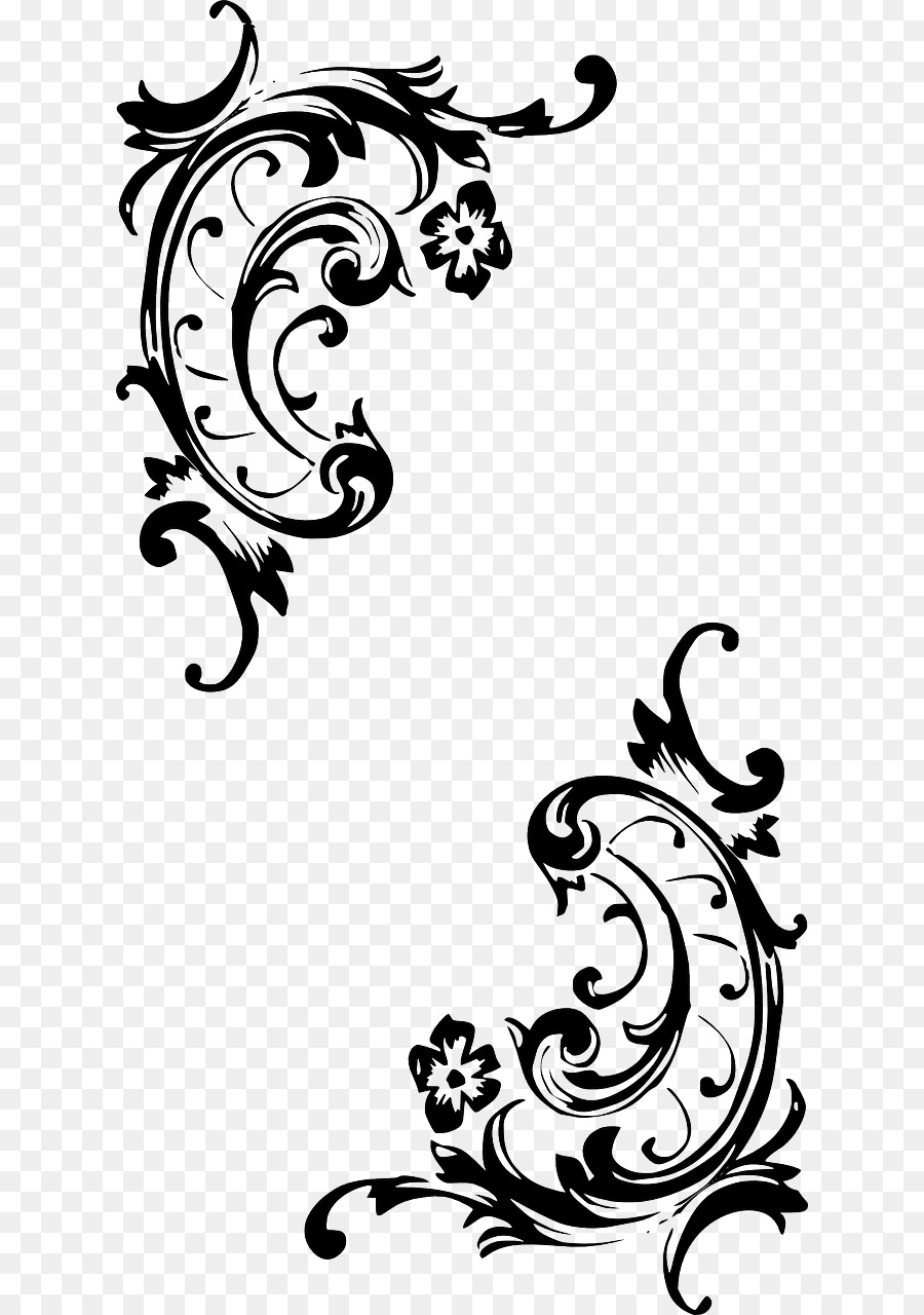 Elements of baroque style frames and borders vector free vector in.