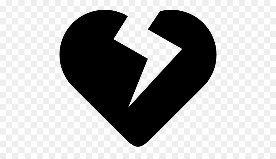 Broken Heart Symbol Computer Icons Heart Png Download 512512