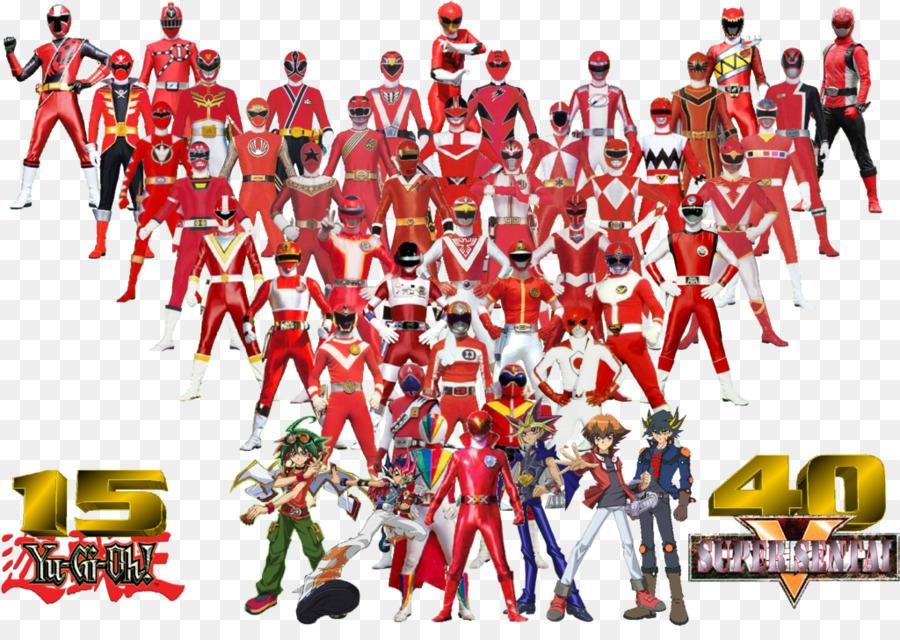 Super Sentai Rouge Rangers Power Rangers Yu Gi Oh Power