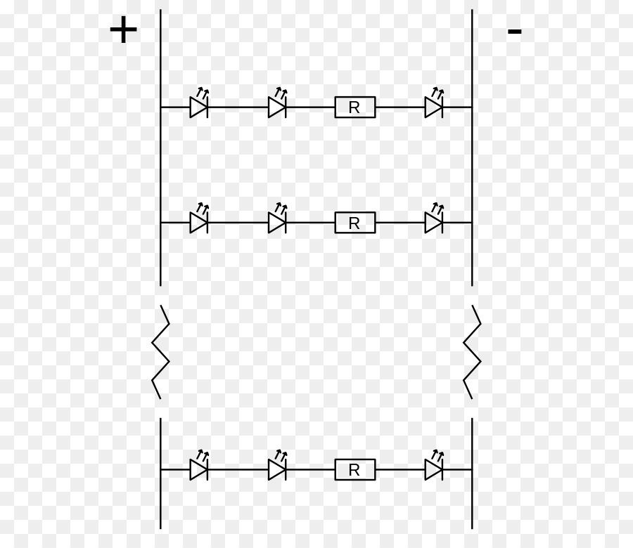 lightemitting diode, circuit diagram, drawing, white, text png