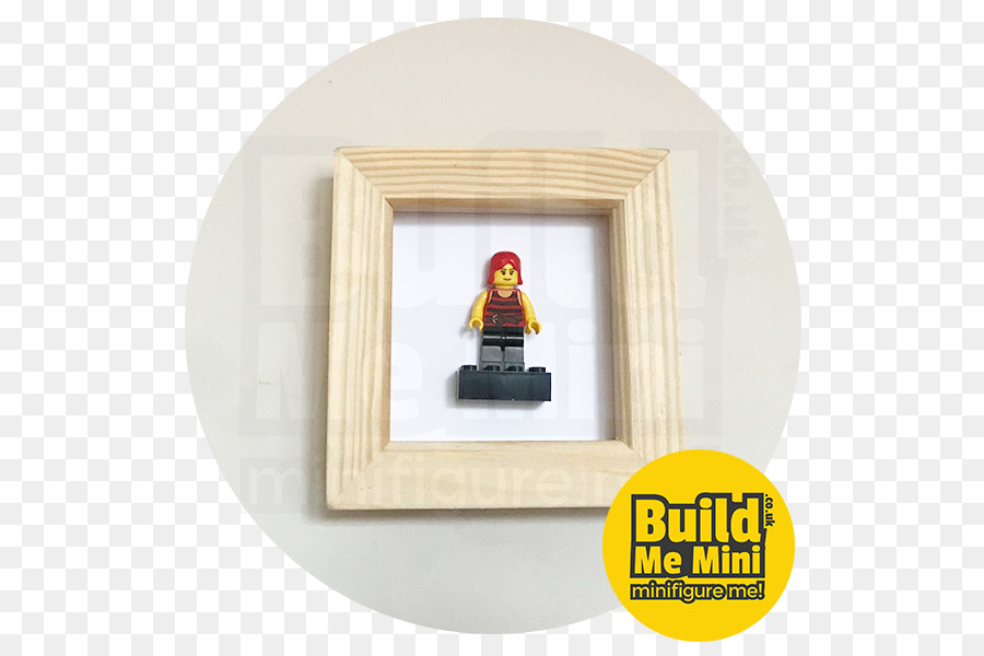 Lego Minifigures Picture Frames White Lego Frame Png Download