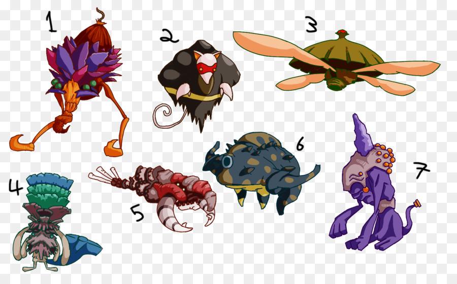 Personajes no jugadores Clip art - Casa De Cangrejo Ermitaño png ...