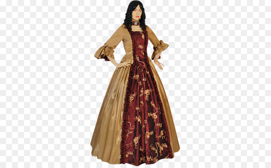 Ball gown Renaissance Dress English medieval clothing - dress png ...