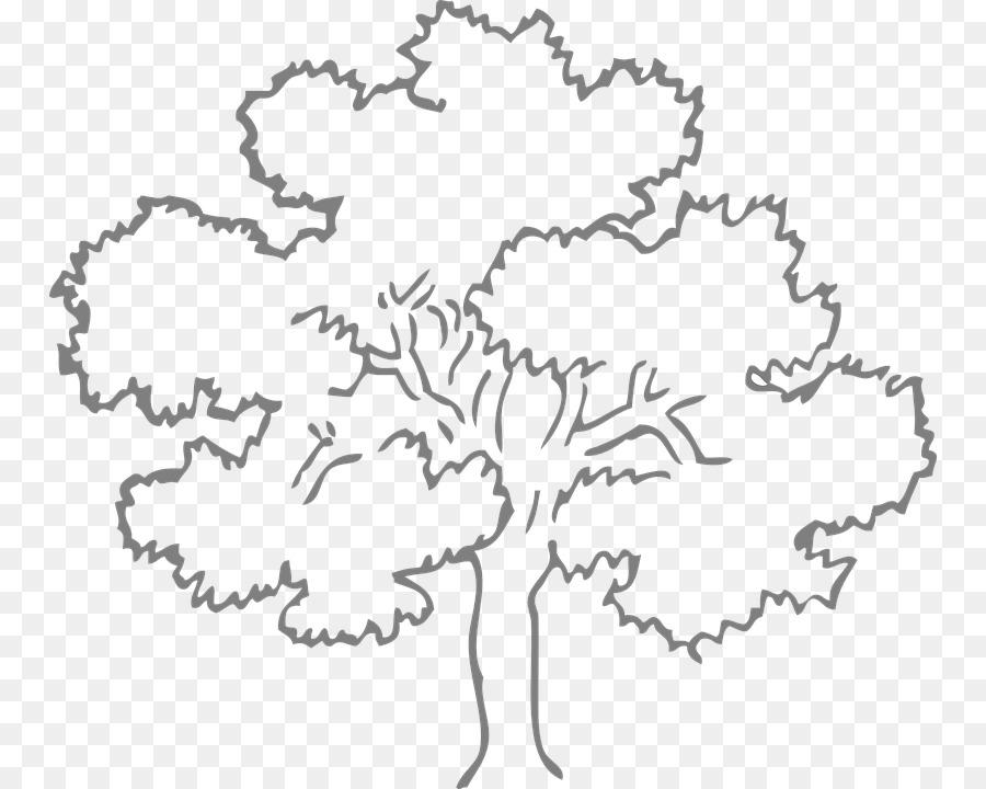 Árbol de roble Dibujo para Colorear libro Clip art - árbol png ...