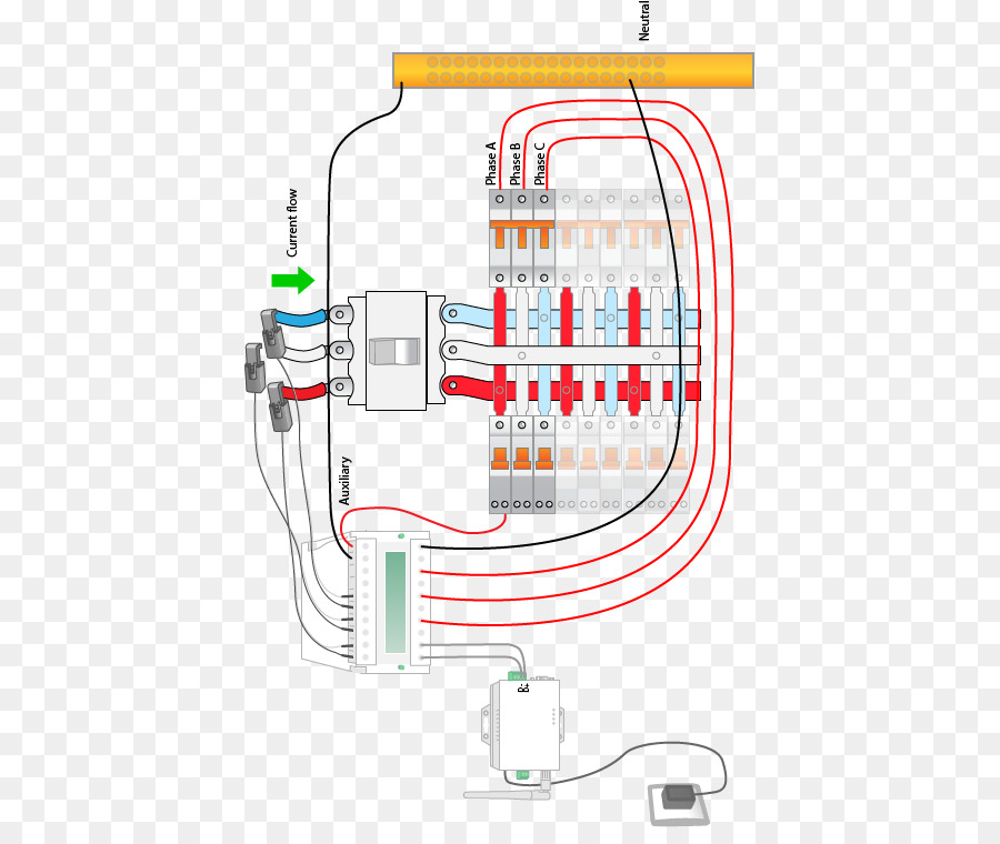 Electrical network Wiring diagram Electrical Wires \u0026 Cable Three-phase electric power - Auto Meter Products Inc.