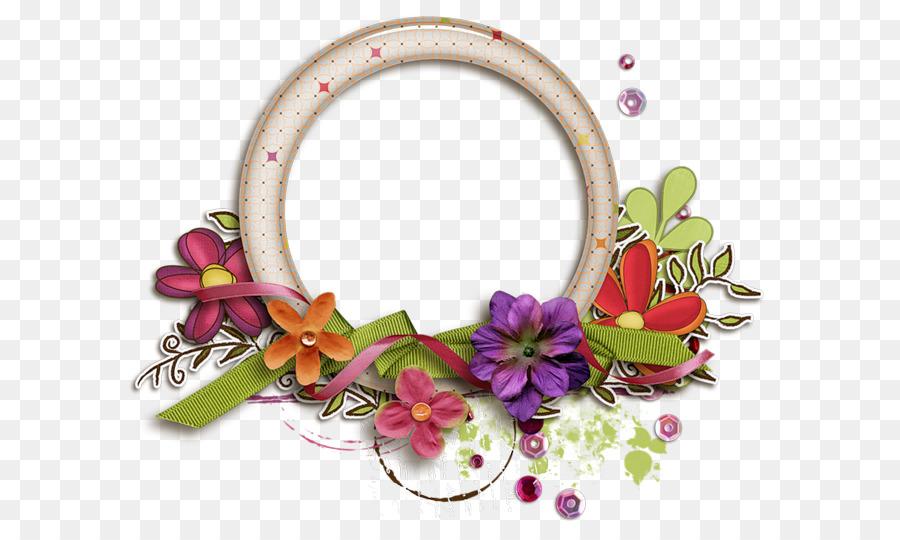 Yuvarlakia Abuela del Día - círculo de la Flor de Marco Formatos De ...