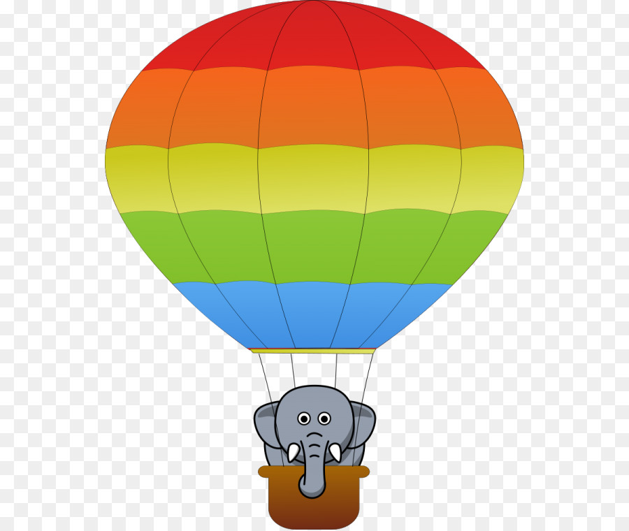 Hot Air Balloon Flight Clipart Ballon Png Herunterladen 600 758