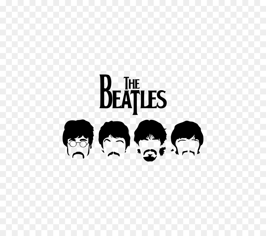 The Beatles Stensil Poster Wallpaper
