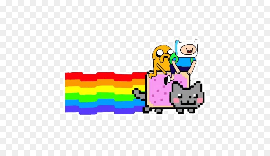 Nyan Cat Desktop Wallpaper Animation Animation Png Download 512