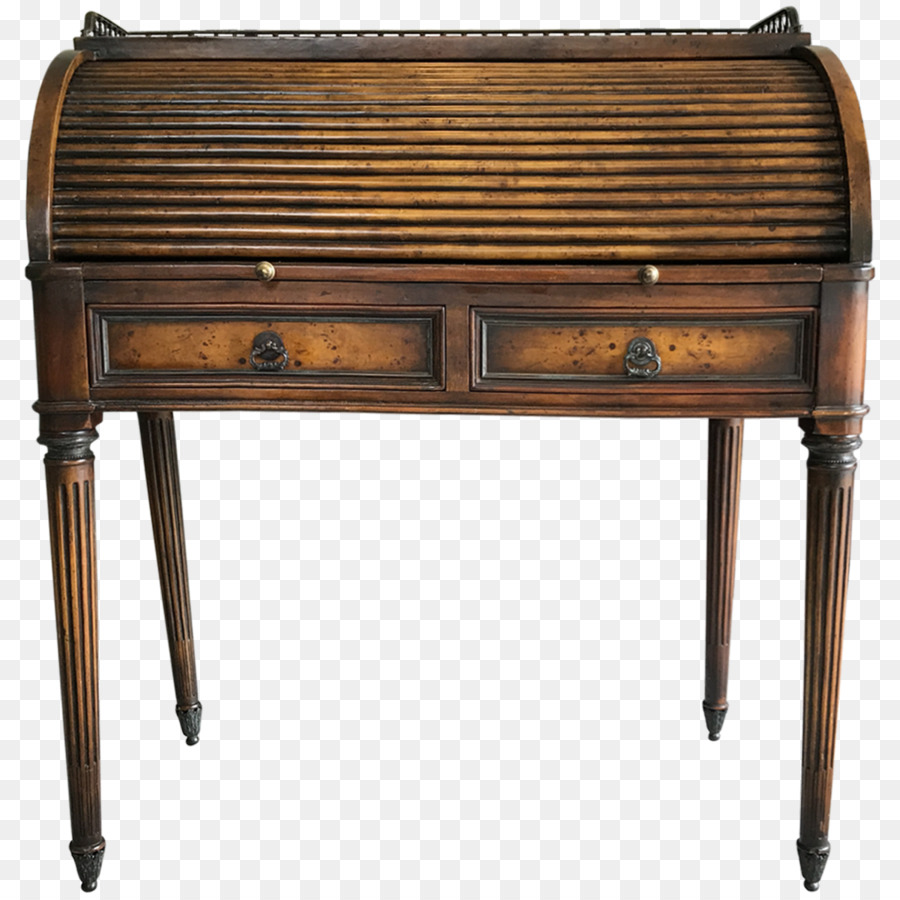 Table Desk Antique - Rolltop Desk - Table Desk Antique - Rolltop Desk Png Download - 1200*1200 - Free