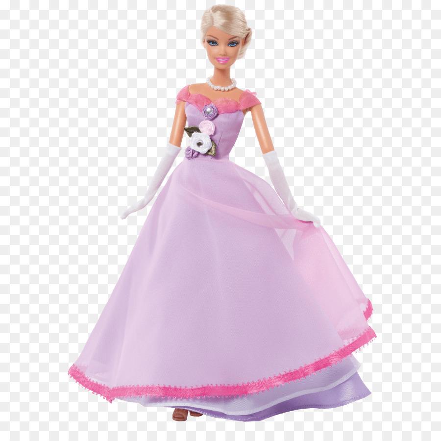 Barbie Wedding Dress Doll Clothing Barbie Png Download 742883