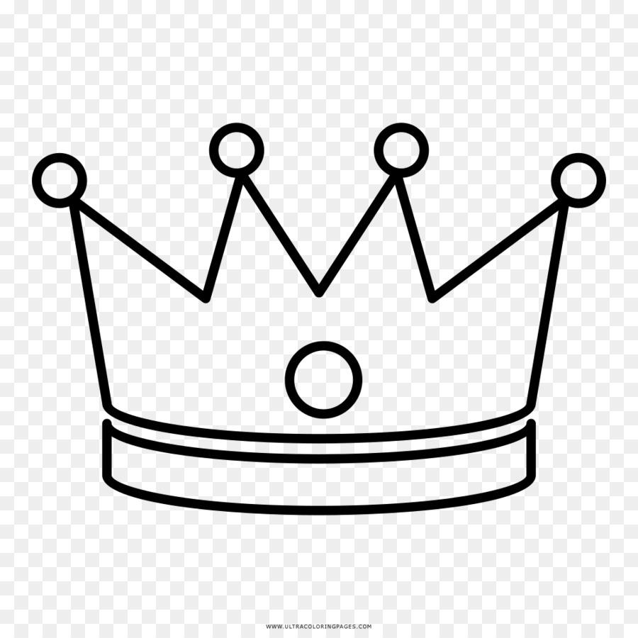 Menggambar Buku Mewarnai Mahkota Porto Real Mahkota Unduh Putih