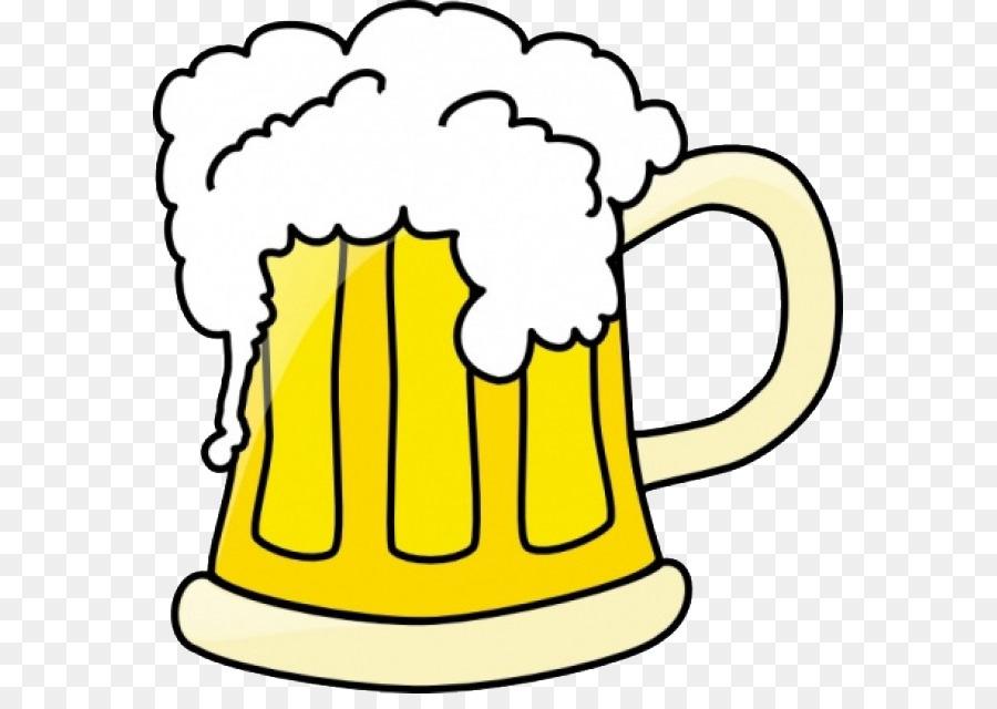 Botella De Cerveza Dibujo: Bicchieri Di Birra La Birra Di Radice Cartoon Clip Art
