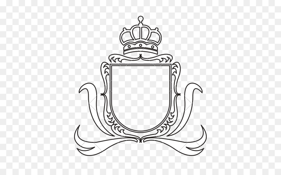 coat of arms template crown crest heraldry crown png download