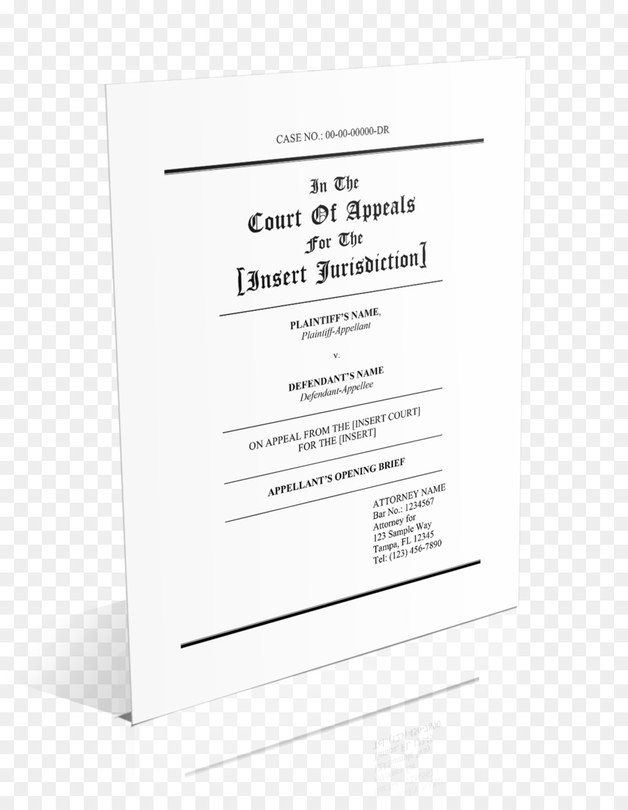Brief Appellate Court Appellate Procedure In The United States