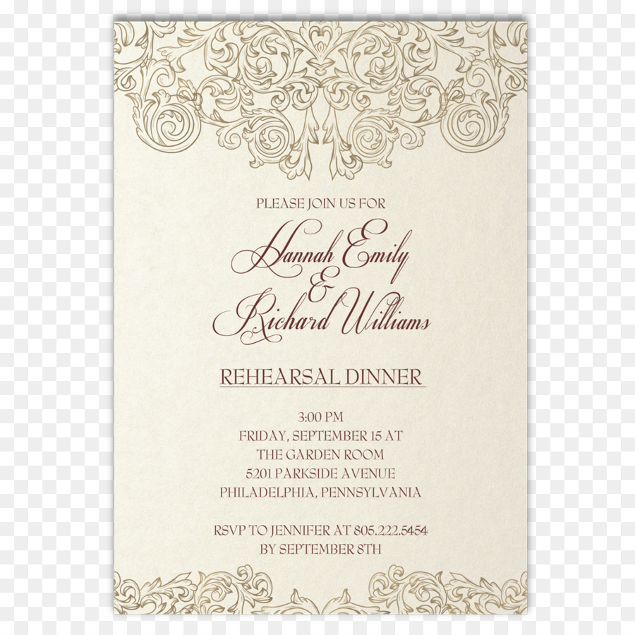 Wedding invitation Rehearsal dinner Suite Party - Rehearsal Dinner ...