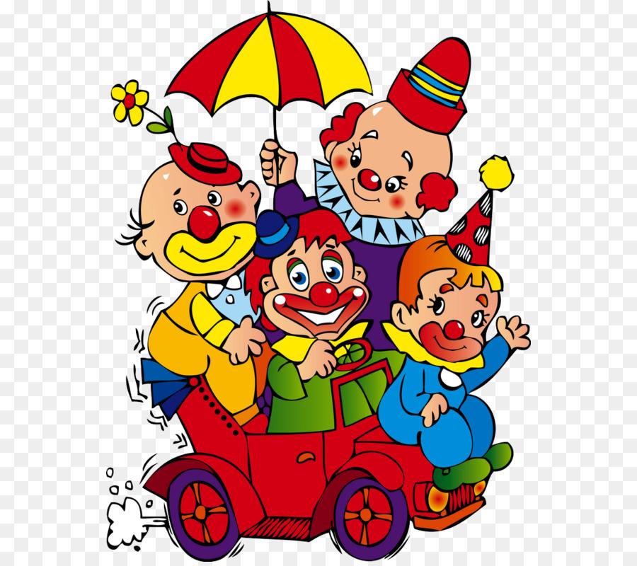 Clown Auto Zirkus Clown Lustige Clown Png Herunterladen 600794