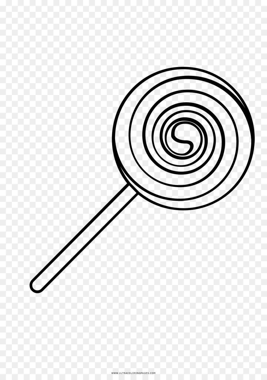 Lollipop Dibujo de libro para Colorear en blanco y Negro de la Línea ...