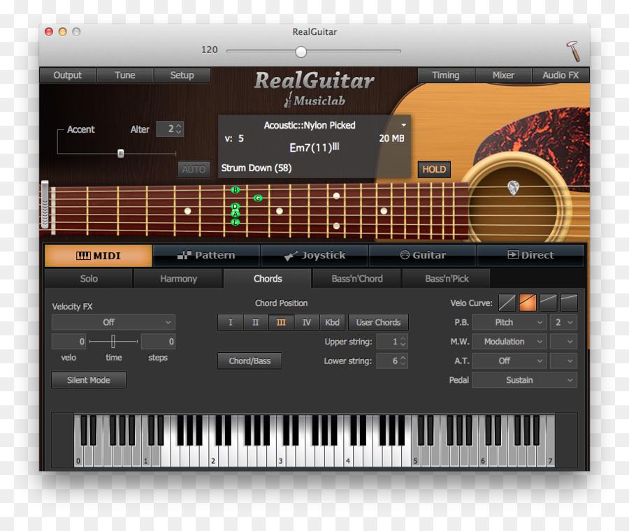 Digital Piano Electric Guitar Virtual Studio Technology Sound