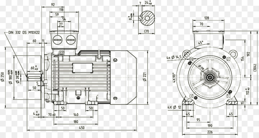 Technical drawing Car Engineering - design png download - 1972*1036 ...