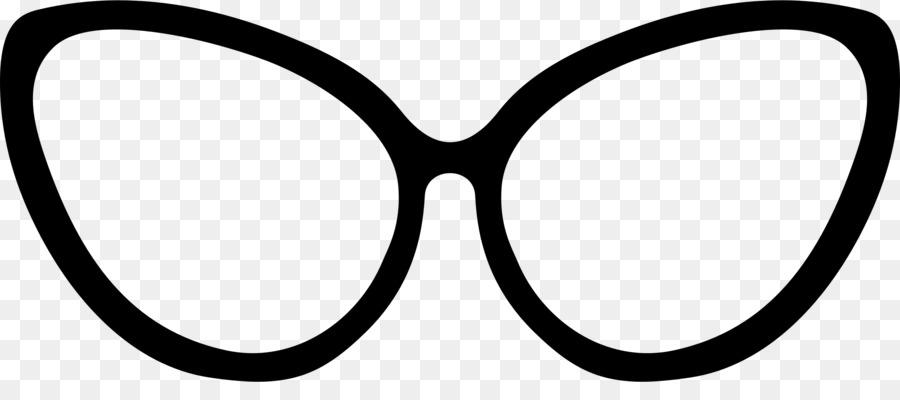Cat Eye Glasses Template