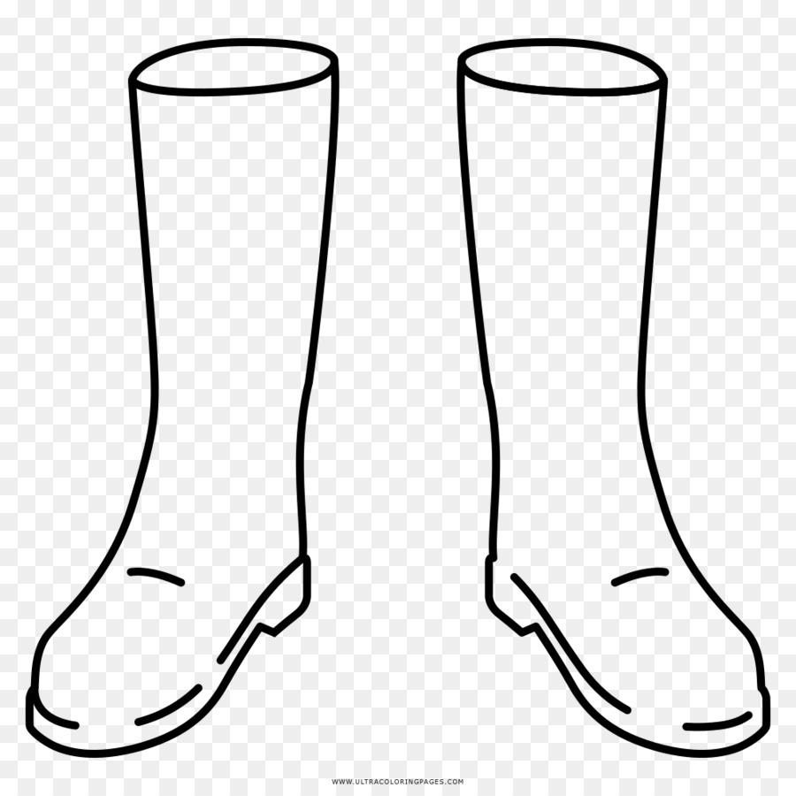 Zapato bota de Vaquero Ausmalbild libro para Colorear - de arranque ...