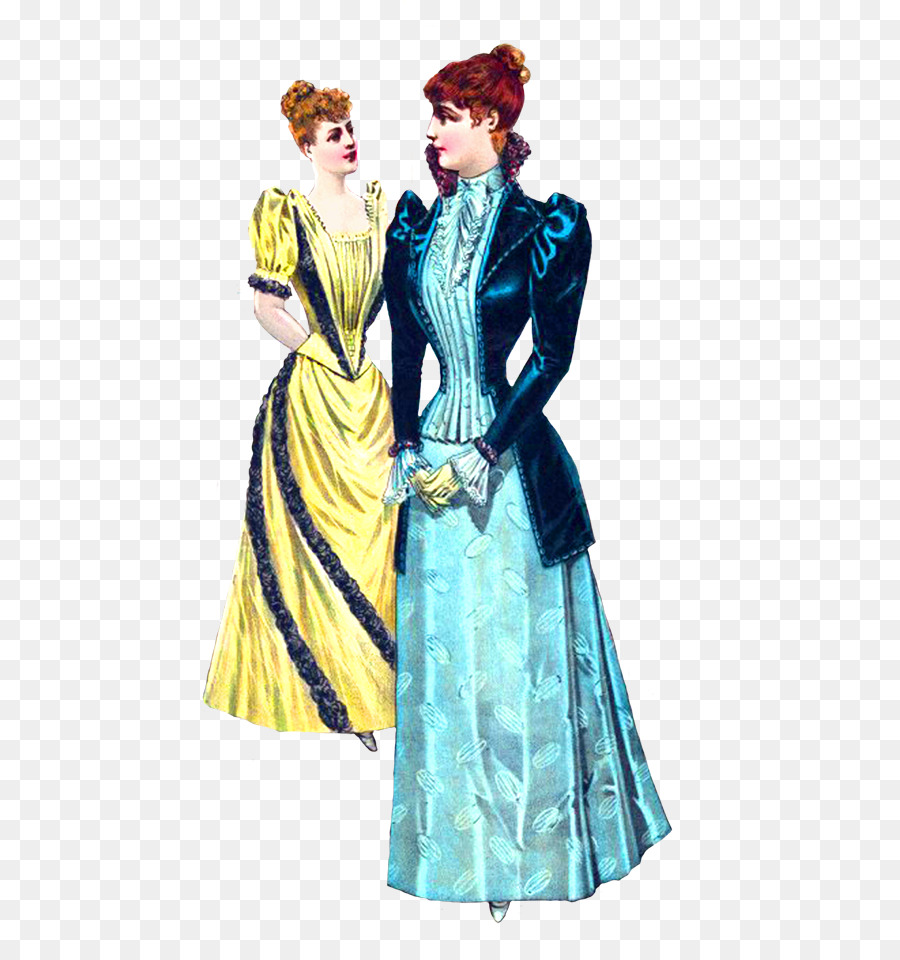 0364b413dc Victorian fashion Victorian era Clothing Clip art - dress png ...