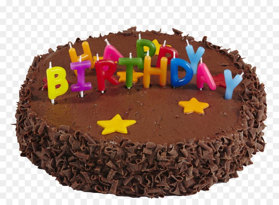 Birthday Cake Chocolate Cake Torte Ganache Buttercream Chocolate