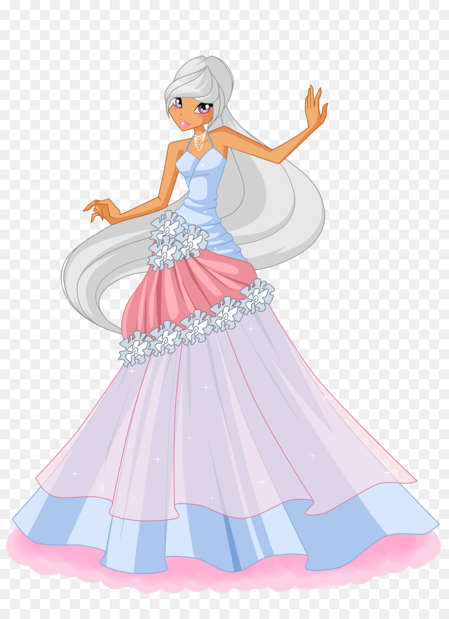 Ball gown Dress Tecna - ball png download - 2950*4000 - Free ...