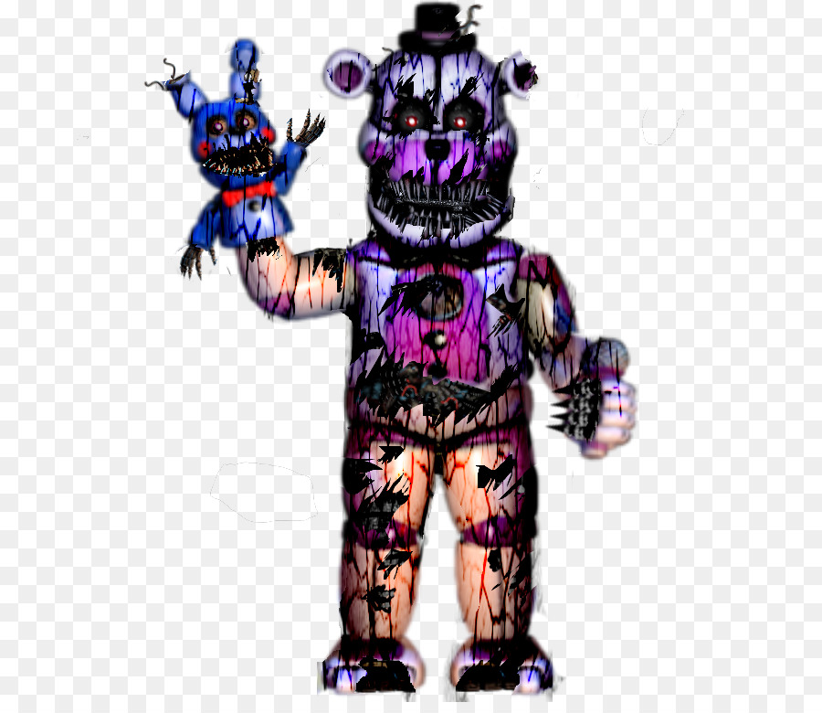character costume fiction funtime freddy 768768 transprent png free download purple costume robot