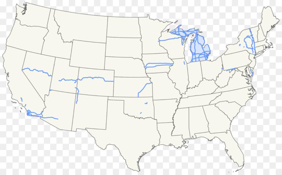 Estados unidos, libro para Colorear, mapa en Blanco de Geografía ...