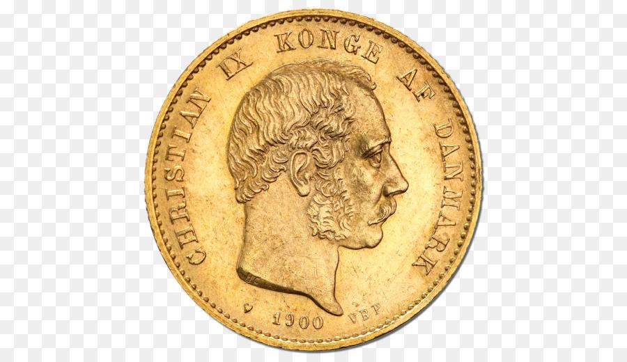 Goldmünze Gold Münze Franc Dänische Krone Münze Png Herunterladen
